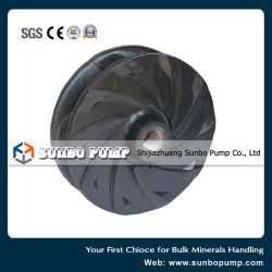 Centrifugal Slurry Pump Corrosion Resistance Rubber Lined Pump Spare Parts