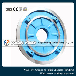 High Chrome Alloy Wear Resistance OEM Centrifugal Slurry Pump Spare Parts, Frame Plate Liner Insert, Volute, Impeller