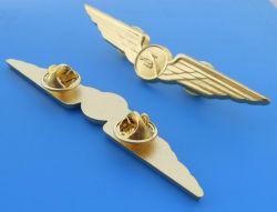 Custom Metal Pilot Wing Badge (ASNY-JL-PB-14012302)
