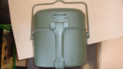 Military Tactical Outdoor Travelling Camping Food Canister Can Tin