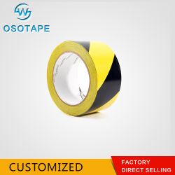 Warning Use and PVC Material Rubber Adhesive for PVC Tapes