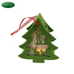 wholesale cloth lighted christmas tree hanging decoration gifts - Wholesale Christmas Gifts