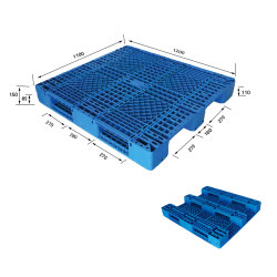 High Quality Logistics Transportation Plastic Pallet Exporting Pallet for Wholesale