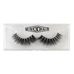 OEM Luxurious Handmade 3D Artificial Lashes 100 % Mink Eyelashes