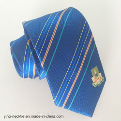 Men's High Quality 100% Woven Polyester Logo Tie
