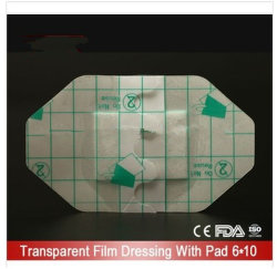 Pet with PU Adhesive Transparent Dressing