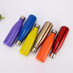 Custom Sport Drinking Insulated Reusable Metal Stainless Steel Water Bottle