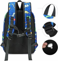 600d/Knit Fabric New Fashion Children's School Bag Outdoor Sport Soft Travel Backpack Laptop Bag