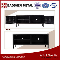 Metal TV Stand Multipurpose Storage Console Sideboard Buffet Table