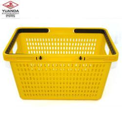Wholesale Supermarket Colorful Plastic Shopping Basket