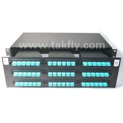 FTTH 3u 19'' MPO/MTP Rackmount Fiber Optic Patch Panel