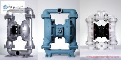 Sewage Pump, Slurry Pump, PP PVDF Double Diaphragm Pump