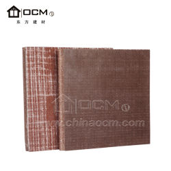 Sound Absorbing White Magnesium Wall Panel for Interior