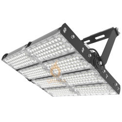 160lm/W Waterproof High Power Adjustable LED High Mast Flood Light for Outdoor Airport Stadium Lighting 100W 200W 300W 400W 600W 800W 1000W 1500W