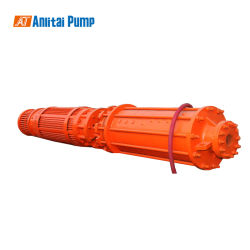 Large Capacity Centrifugal Vertical Submerged Mining Underwater Submersible Slurry Pump