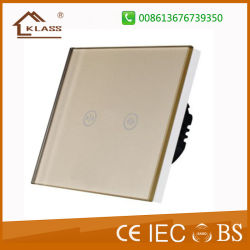 Touch Switch Golden Lamp Remote Curtain Switches For Wall