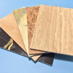MGO Board Can Be Decorated with Vinyl, Laminate or Wall Paper by Using Suggested Adhesive or Glue