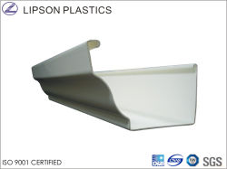 High Quality PVC Pipe Fitting Plastic Roof Gutters