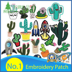 China Velcro Embroidery Patches, Velcro Embroidery Patches