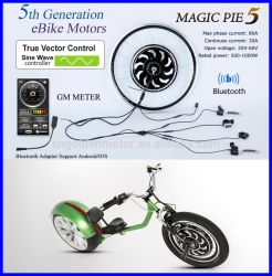 Bluetooth Programmable! 250W 500W 1000W Magic Pie 5 Electric Bike Motor with Display Available for for Android/Ios
