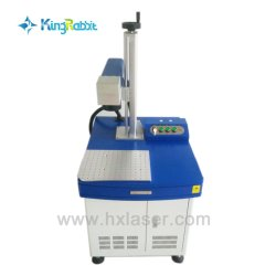 30W Fiber CO2 Laser Marking Machine for Metal/ Nonmetal Materials