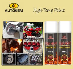 Heat Resistant Spray Paint (up to 1200 F)