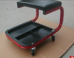 Mechanic Creeper Seat with Tray Black Color