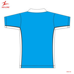Healong Fashion Design Sportswear Sublimation Men's Polo Shirt