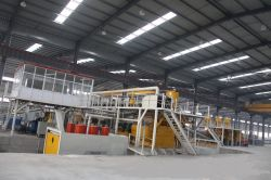 Agglomerated Marble Stone Block Production Equipment
