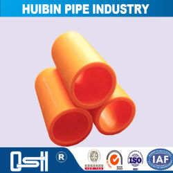 SDR13.6/SDR17/SDR26 Welded Connector PE Gas Pipe with Long Service Life