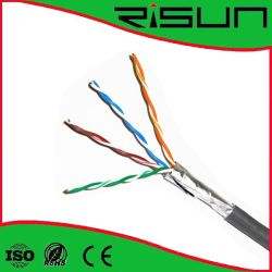 Foil Shield Cat5e Cable Double Jacket