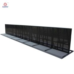 Aluminum Barrier Crowd Safety for Sport Playground Customized Metal Crowd