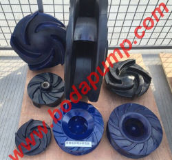 Special Material Polyurethane Slurry Pump Impeller Made in China