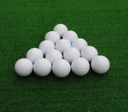 Wholesale White Water Soluble Rubber Golf Balls