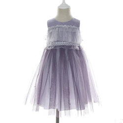 752b07c4039 New 2019 Spring Summer Hot Fashion Designer Beading Evening Dress for  Children Kids Girl