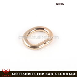 Cheapest Price Zinc Alloy Material Brass Metal Handbag Rings Accessories