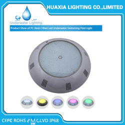 SMD3014 12V 18watt LED Surface Mounted Swimming Pool Light Underwater Lamp