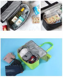 Double Insulated Lunchbox Ice Packs Multi-Purpose Picnic Bag Camping Travel Admission Bags Men Women Sports Bags Large Storage Bag