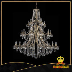 China crystal light crystal light manufacturers suppliers made interior project hotel luxury chandelier crystal lights 1771 20105 b aloadofball Gallery