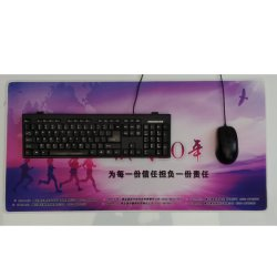Extra Large Extended Gaming Mouse Pad Mat, Stitched Edges, Waterproof, Ultra Thick 4mm, Wide & Long Mousepad