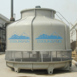 Low Noise Induced Draft Counter Flow FRP Bottle Type Cooling Tower