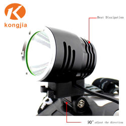 T6 LED Emergency Rechargeable Aluminium Bicycle Light Headlamp