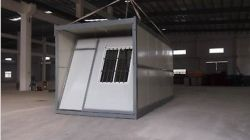 Double Story Prefabricated Folding Office Container House