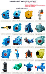 Interchangeable Horizontal Ah Slurry Pump Rubber Parts