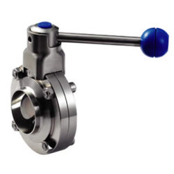 Sanitary Butterfly Valve Stainless Steel Butterfly Valve Butterfly Valve Factory