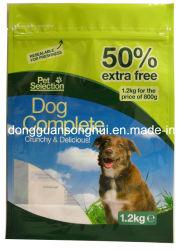 Pet Food Bag with Zipper/Plastic Pet Food Bag/Dog Food Pouch
