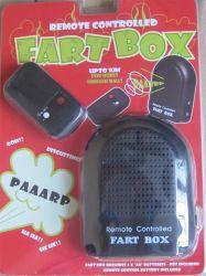 Remote Control Trick Fart Box