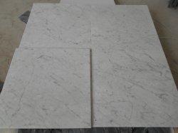 Hot Italian Bianco Venato Carrara White Marble Kitchen Countertop