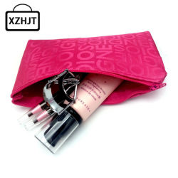 34a76f14ac74 Women Portable Cosmetic Bag Fashion Beauty Zipper Travel Make up Bag Letter  Makeup Case Pouch Toiletry