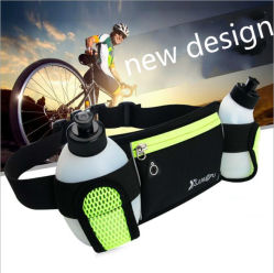 New Design Outdoor Sports Waist Bag with Water Bottle